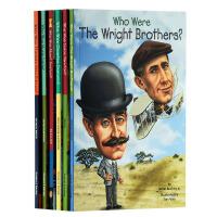 Who Was 系列著名发明家6册套装 英文原版 儿童读物 儿童文学 初级章节书 青少年读物