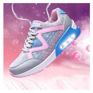 当当领舞者 潮流时尚百搭女运动鞋透气网布慢跑鞋