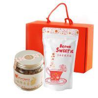 【台湾年货礼盒】Brown Sweetie 手工柴烧黑糖+台湾老姜 礼盒组