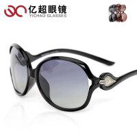 亿超 时尚 偏光太阳镜 女士墨镜 偏光太阳眼镜 大框 潮YC9002
