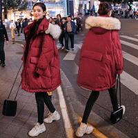 韩版宽松秋冬款棉衣冬季外套新款孕妇孕后期a字冬装