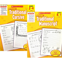 学乐成功系列 Scholastic Success with Traditional Manu*/Cursive Gr