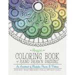 预订 Maggie's Coloring Book of Hand Drawn Designs: An assortm