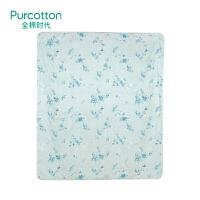 全棉时代夹棉纱布被180cm×200cm蜻花漫舞,1件/袋