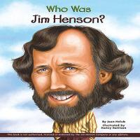Who Was Jim Henson?美国木偶大师:吉姆・汉森ISBN9780448454061