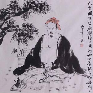 中国国画家协会会员 刘郑功(人物) LL65