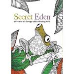 【中商原版】英文原版 Secret Eden : Anti-Stress Art Therapy Colouring