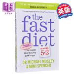 【中商原版】[英文原版]Fast Diet Updated 轻淡食