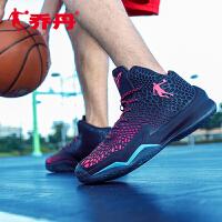 乔丹篮球鞋男鞋2017冬季新款高帮减震耐磨球鞋运动鞋男XM3570101