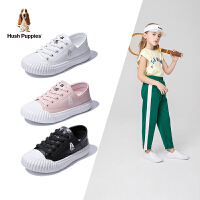【199元任�x2�p】暇步士童鞋2020春季新款女童板鞋�干鞋�底透�饽型�休�e小白鞋潮