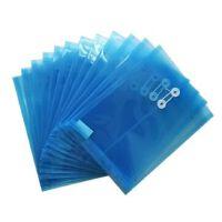 得力 5511 A4文件袋 资料袋/A4塑料*袋/A4纽扣袋 得力文具