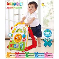 正品澳贝婴幼儿多功能学习桌学步车 多功能游戏学步车玩具463405