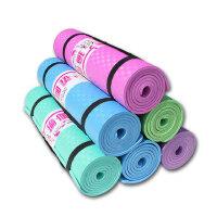 瑜伽垫nbr瑜伽加厚8mm防滑垫平板支撑垫男士健身垫