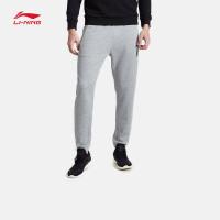 李宁卫裤男士2017新款运动生活系列长裤休闲裤子收口运动裤AKLM811