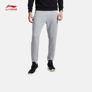 李宁卫裤男士运动生活系列长裤休闲裤子收口运动裤AKLM811