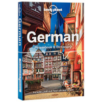【中商原版】德语短语手册(第7版)英文原版 Lonely Planet German Phrasebook & Dictionary 7th Edition