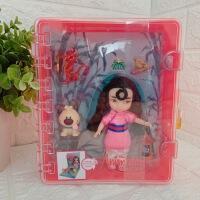 美国迪士尼进口迷你沙龙娃娃套装礼盒冰雪奇缘艾莎儿童玩具礼物