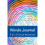 预订 Words Journal: A 6 x 9 Lined Notebook [ISBN:978197909079