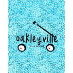 预订 Oakleyville Fire Island: 8.5x11 lined notebook: Oakleyvi