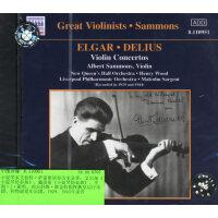 伟大的小提琴家:萨蒙斯(CD)(Naxos历史录音系列 8.110951)