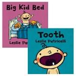 【中商原版】小脏孩系列启蒙认知绘本2册 英文原版 Leslie Patricelli Tooth/Big Kid Be