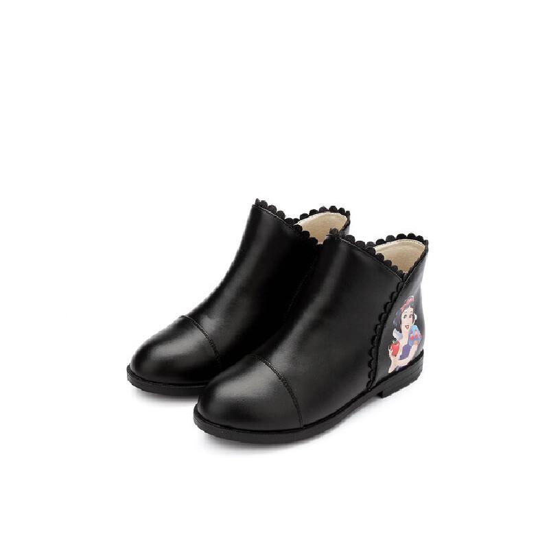【159元任选2双】迪士尼Disney童鞋女童冬季保暖靴子中童 DF0183 FS0927 FS0929 【开学季:限时159元2双】