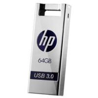 [大部分地区包邮] 惠普/HP x795w 64g u盘64gb 3.0 金属防水优盘 USB3.0高速车载迷你电脑U