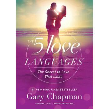 【预订】The 5 Love Languages Audio CD: The Secret to Love That Lasts Compact Disc只是光盘 预订商品,需要1-3个月发货,非质量问题不接受退换货。