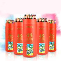 晨光文具彩铅PP筒装彩色铅笔彩笔学生绘画涂鸦涂色彩铅笔24/36色