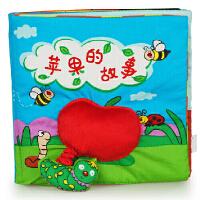 拉拉布书婴幼儿益智玩具启蒙与认知宝宝早教 苹果的故事