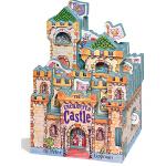 英文原版0 3岁 Mini House 迷你城堡 The Enchanted Castle 睡美人 猫公主 迷你屋系列