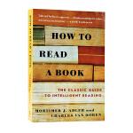 英文原版 如何阅读一本书 How to Read a Book 教你如何阅读的方法