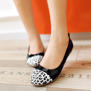 O'SHELL欧希尔新品057-1528韩版平底鞋女士豆豆鞋