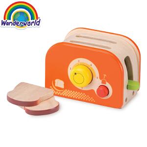 [当当自营]泰国Wonderworld 烤面包机 过家家角色扮演益智玩具 厨房厨具配件