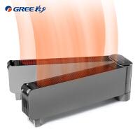 格力(GREE)取暖器NDJD-X6021B家用可折�B踢�_��暖器智能控�仉�暖�庖�拥嘏��k公�o音�能�α魇竭b控暖�L�C