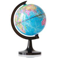 得力地球仪 得力3032 地球仪 14.2cm高清全塑行政地理教学地球仪