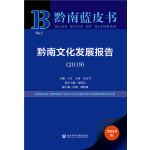 黔南蓝皮书:黔南文化发展报告(2019)