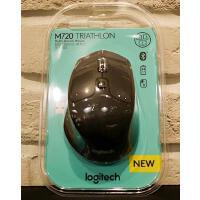 罗技Loigtechik M720 商务办公电脑笔记本鼠标 WIN7/8/10 MAC 蓝牙优联双模式
