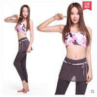 新款瑜伽服健身服吊带背心含胸垫套装女 可礼品卡支付