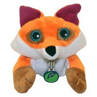 Zoobies如比玩具 毛绒翻转球 狐狸毛绒玩具 TP103