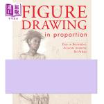 人物素描 英文原版 Figure Drawing in Proportion Michael Massen North