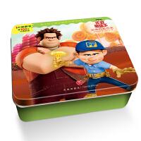 迪士尼卡通全明星铁盒拼图书:无敌破坏王・出走的拉尔夫
