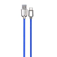 英米 荧光安卓通用数据线S10 蓝色