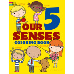 Our 5 Senses Coloring Book