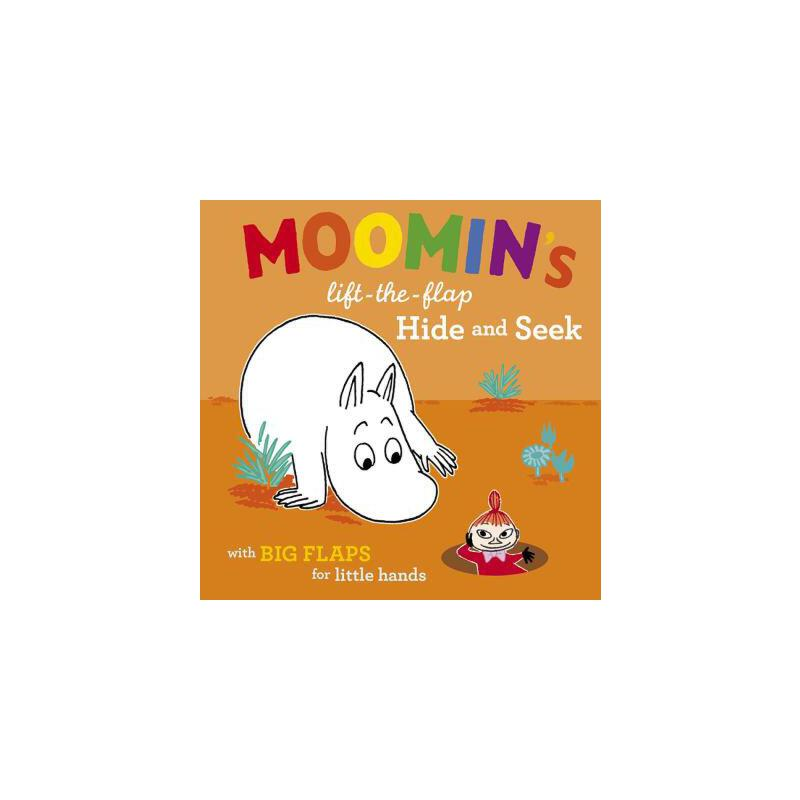 【预订】Moomin's Lift-The-Flap Hide and Seek  with Big Flaps for Little Hands 预订商品,需要1-3个月发货,非质量问题不接受退换货。