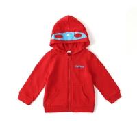 巴拉巴拉旗下马卡乐春秋季新品保暖可爱潮酷纯棉男童连帽外套