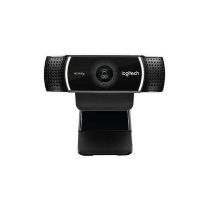 罗技 新款新款(Logitech)C922 PRO 全高清网络自动背景消除对焦内置双麦克风摄像头 主播自动对焦双麦克风摄像头  支持背景替换功能 方便直播 C920升级 内含三脚架。视频主播就选它