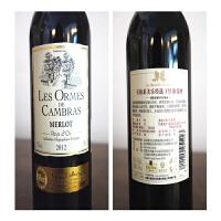 法国卡柏莱美乐特选干红葡萄酒 法国原瓶进口 750ml