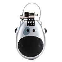 沐阳 MY-L708 可伸缩旅行线锁 电脑安全锁 笔记本密码锁 工程级防盗电脑锁 防盗锁白色