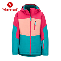 Marmot/土�苁�敉饣�雪�S门�童防�L防��水�r尚保暖防�L帽滑雪服外套